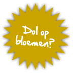 dol-op-bloemen